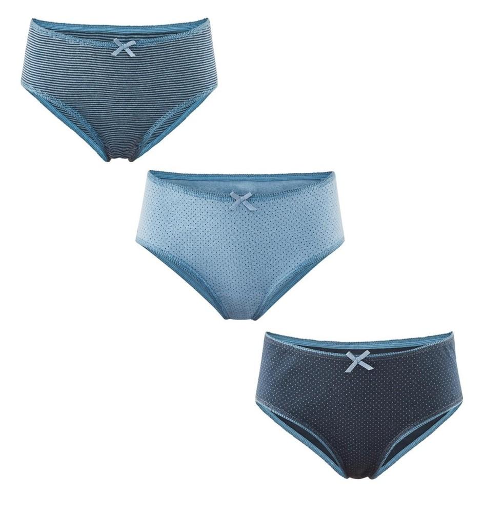 dfd12f53765 Pack de 3 culottes pour fille en coton bio