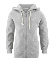Sweat enfant coton bio capuche et zip