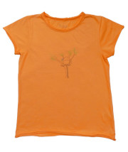 T-shirt coton bio enfant orange