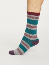 Chaussettes rayées pour homme marque Thought