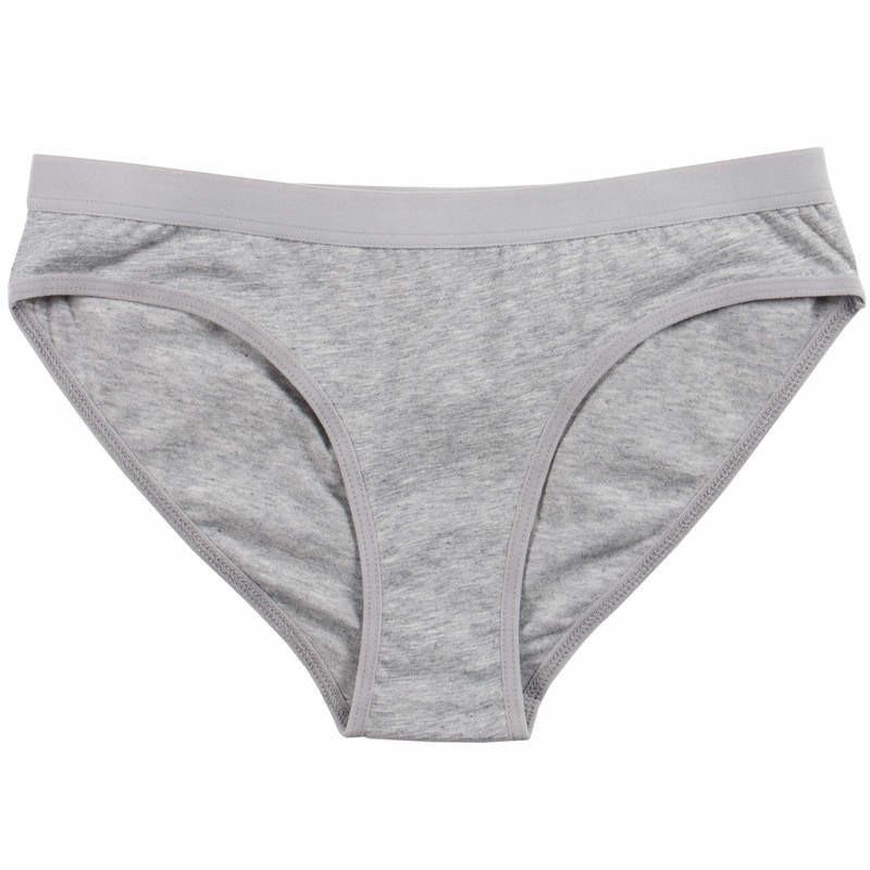 Culotte coton bio femme couleur gris 0d14a367fc6