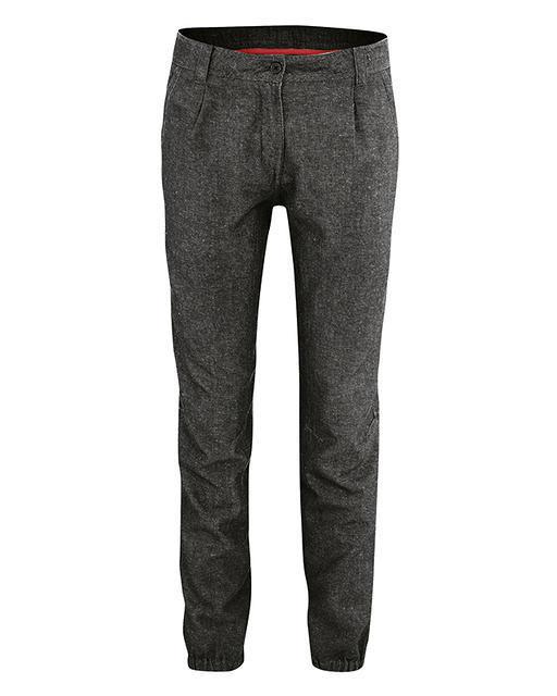Pantalon slim, femme, couleur noir, chanvre et coton bio, Hempage, commerce 3239ae1086d0