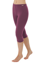 Leggings courts coton bio prune