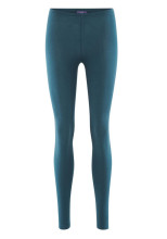 Leggings coton bio Living Crafts bleu