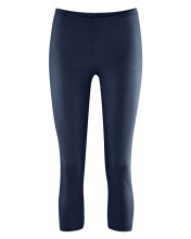Leggings chanvre coton bio bleu marine