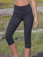 Leggings 3/4 yoga en bambou