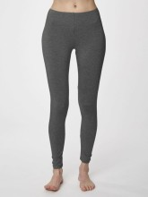 Leggings bambou femme gris anthracite