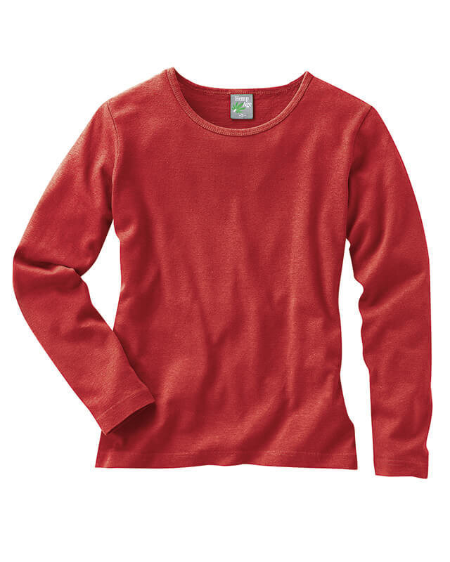 T Femme Chanvrecoton Manches Shirt Bio Longues FlJc5uK1T3