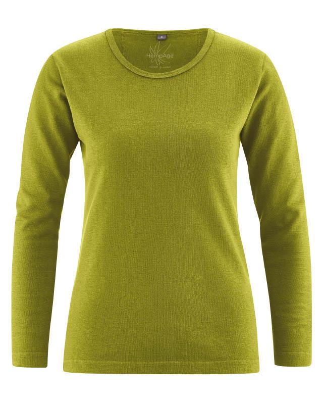 T Chanvrecoton Femme Shirt Longues Manches Bio Rcq34L5Aj