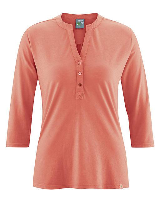 5dfd6ea8059 T-shirt Femme manches 3 4 - chanvre et coton BIO naturel