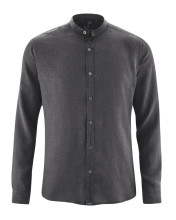 Chemise pur chanvre col mao
