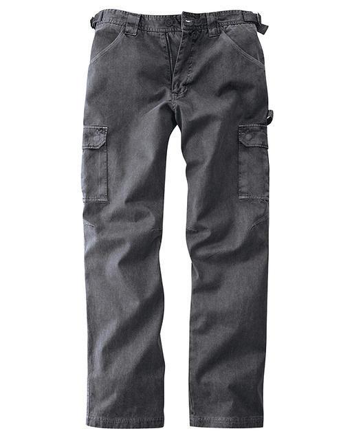af9051a5ac22a Pantalon cargo homme en chanvre et coton bio noir