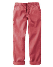 Chino rouge pour Homme - mode écoresponsable HempAge