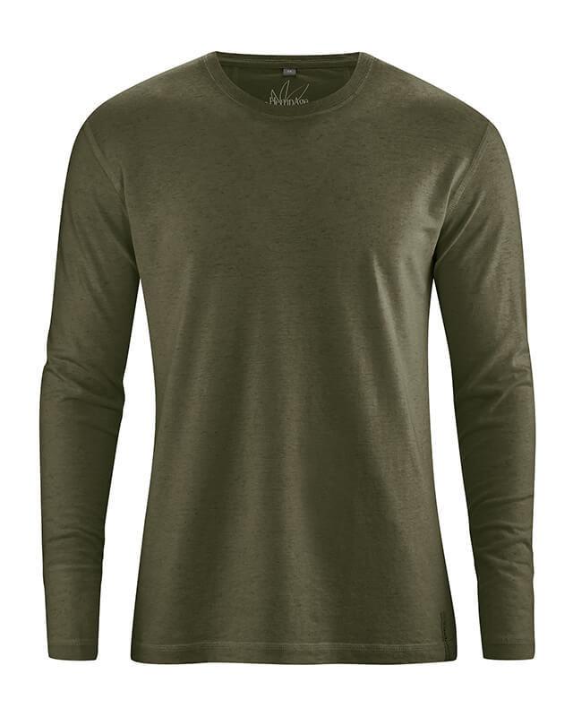 Longues Chanvre Shirt Bio Coton Manches T Homme w1pqzq0