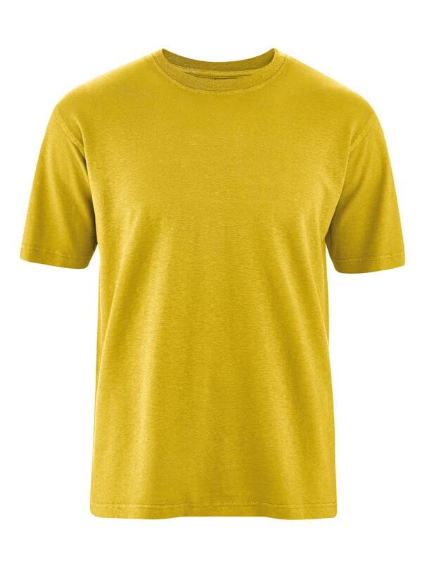 T shirt homme léger en chanvre et coton bio