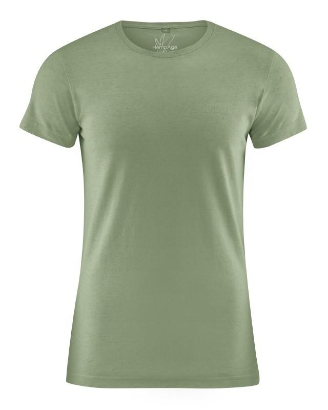 95773def12a T-shirt manches courtes couleur cactus. T-shirt chanvre coton bio slim pour  homme